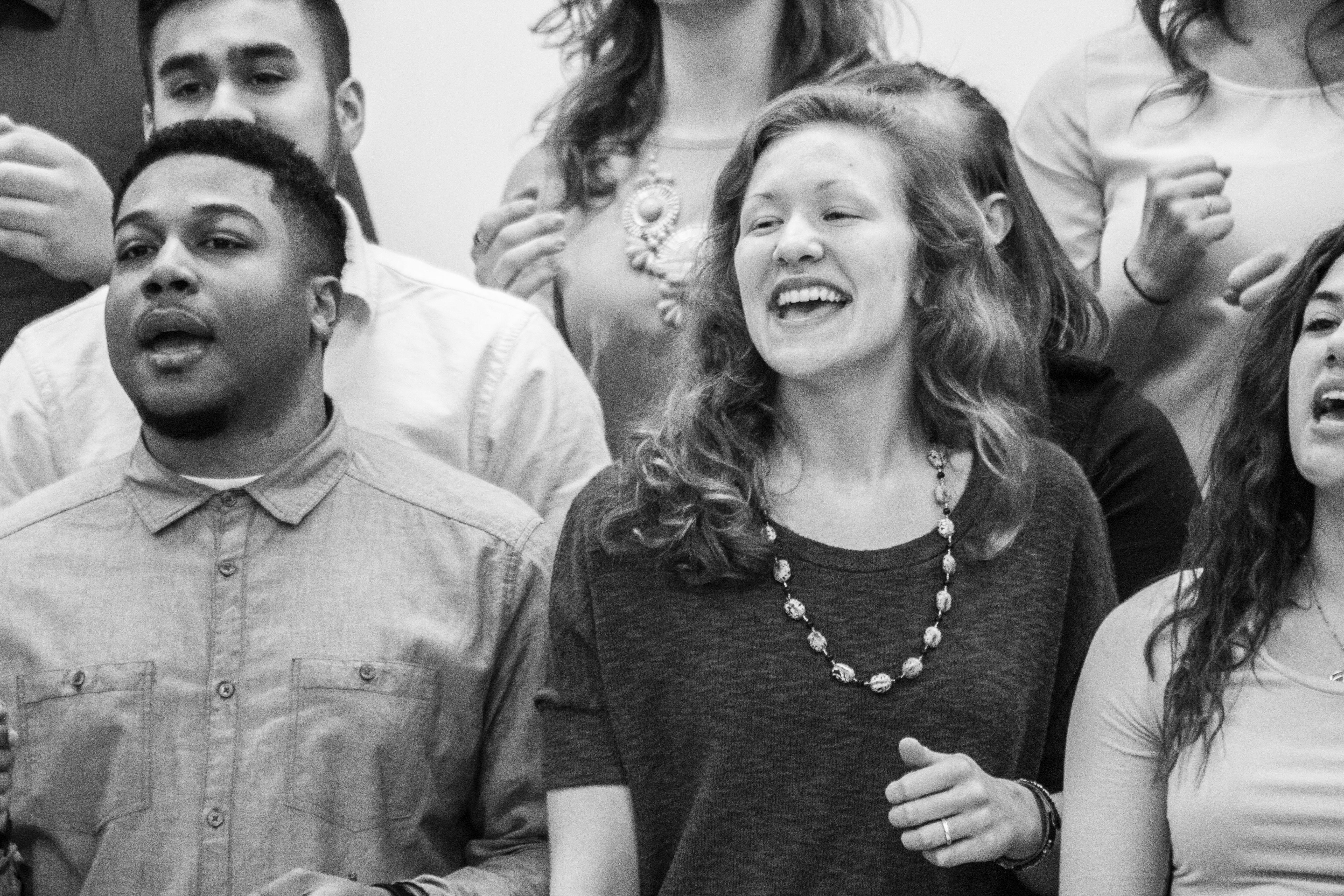 gospel choir performs for pembroke � the glimmerglass