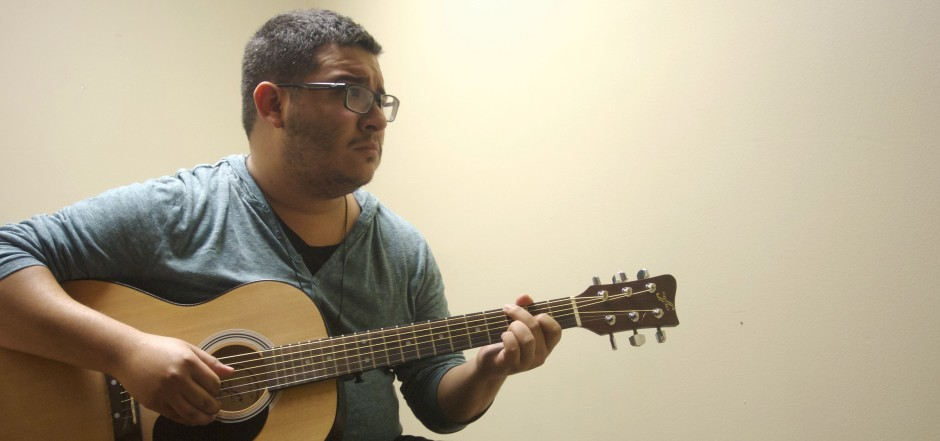 After barely two years as the head chapel worship leader, Joey Ramirez has announced plans to step down from his position. The Olivetians, a well- known university public relations band, will take over. Photo by A.E. Sarver.