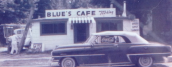 Photo taken from Blue's Cafe's menu. The cafe has been around since 1954 and holds the same nostalgia it did from then.
