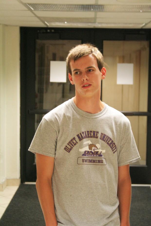 Baxter White, freshman.