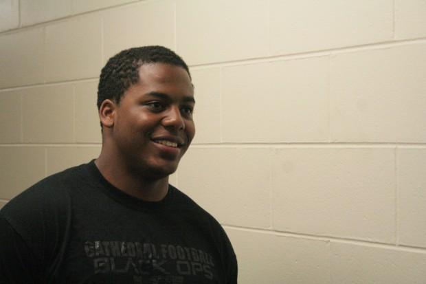 Raja Burt, freshman.