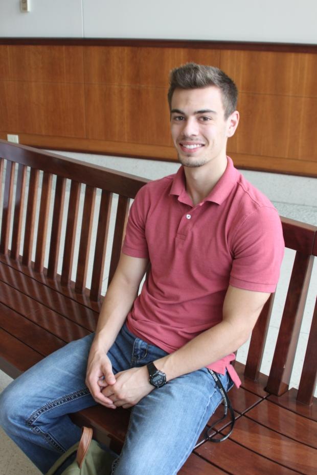 Zach Chinzing, junior.