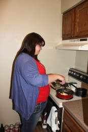 Cooking in Apartments (Emily Willis in UP)- Abbie Mills