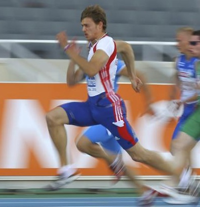 Frenchman Christophe Lemaitre is the fastest white person on earth, winning the silver and bronze medal at the 13th International Association of Athletics Federations Athletic World Championships in 2011.  Photo/Wikipedia.org