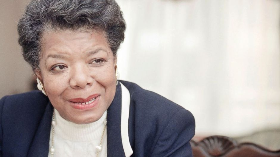 "Maya Angelou is best known for her autobiographies such as ""I Know Why the Caged Bird Sings"" and ""All God's Children Needs Traveling Shoes."" Image courtesy of Doug Mills/AP photos."
